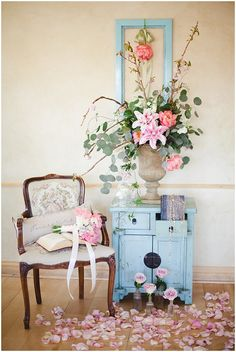 #Vintage #Parisian Inspired #Bridal #Brunch by Connie Dai Photography; #vintage #chair