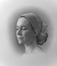 Mina Dela Cruz (graphite on paper)