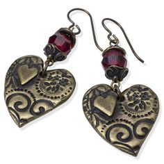 Amor Earrings | Fusion Beads Inspiration Gallery