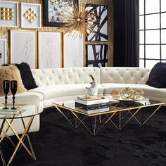 I'm totally inspired by this decor @zgallerie .. #TheGlamorousLife