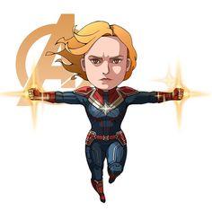 """Bring me Thanos! Marvel Dc, Chibi Marvel, Marvel Heroes, Avengers Cartoon, Marvel Cartoons, Marvel Movies, Captain Marvel Carol Danvers, Fairy Tail, Marvel Drawings"