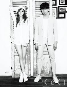 Lee Sung Kyung and Yoon Park - Ceci Magazine February Issue Lee Jin Wook, Choi Jin Hyuk, Lee Sung Kyung, Lee Seung Gi, Choi Seung Hyun, Lee Jung, Jung Woo, Korean Actresses, Korean Actors