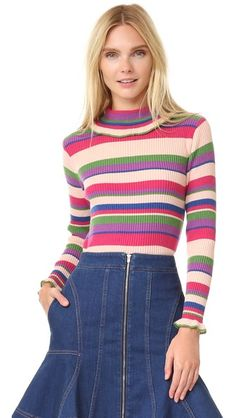 Leur Logette Cashmere Turtleneck Sweater