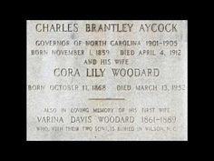 [Wikipedia] Charles Brantley Aycock https://youtu.be/Qa5tbm-R4Mc