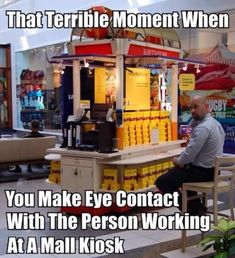 Never make eye contact, they will steal your soul! #shopping #mall #lol #funny #humor