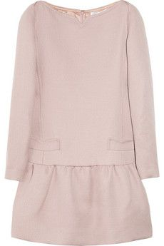 love this pink wool dress for Fall - from Victoria - Victoria Beckham