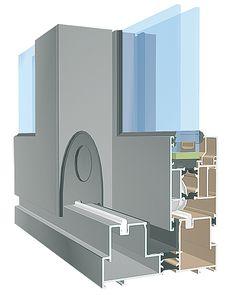 Okna Aluminiowe Łódź - STAR to system okienno-drzwiowy. Profile systemu mają konstrukcję trzykomorową. Cechą, która wyróżnia system to jego współczynnik izolacyjności termicznej.