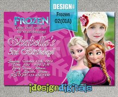 26 best frozen birthday party invitations images birthday party