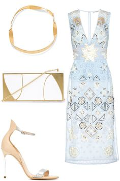 "11 chic bridesmaid ensembles perfect for a summer wedding: Altuzarra ""Pamplona"" embellished cotton dress"