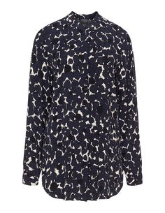 Printed shirt in Blue / White designed by Persona to find in Category Tops at navabi.de