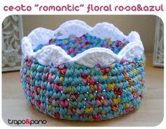 "Cesto ""romantic"" floral"