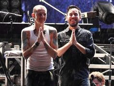 MIKE SHINODA AND CHESTER BENNINGTON & let us pray...