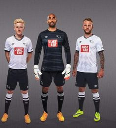 Umbro Derby County Kit 15 16 Derby County, Football Kits, Sporty, Style, Soccer Kits, Swag, Soccer Equipment, Outfits