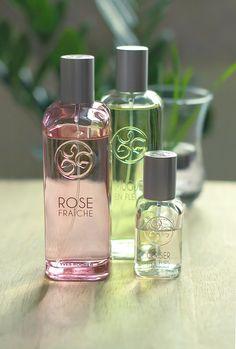 Rose Fraiche, Muguet en Fleurs, et Cerisier en Fleurs de Yves Rocher.