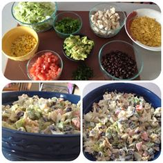 Mom-A-Logues: What We Made Wednesday {Southwestern Chopped Chicken Salad}
