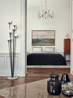 Elle Decor, photo by Idha Lindhag | Modern floor lamp designs that you'll love | See more at  http://modernfloorlamps.net/modern-floor-lamp-designs-youll-love/