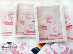 Kit Colorir Luxo Carrossel - Loja Brind Brink