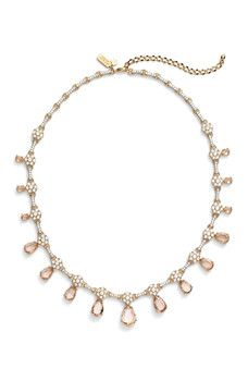 kate spade new york - at first blush bar necklace