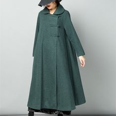 Long length wool poncho coat,warm cozy jacket outwear wool cape long cloak plus size winter coat long sleeve coat dress plus size clothing Poncho Coat, Coat Dress, Model Baju Hijab, Poncho Mantel, Böhmisches Outfit, Faux Fur Hooded Coat, Plus Size Winter, Langer Mantel, Plus Size Kleidung