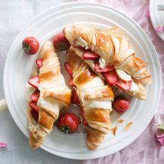 Croissantit mansikka-appelsiinitäytteellä | K-Ruoka