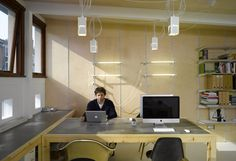 Giant concrete desk space. We could make them ourselves.