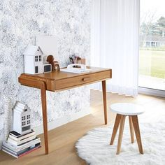 When it comes to original, vintage look furniture, the Colas console table features the best in vintage styling, with an. Console Vintage, Vintage Walls, Table Desk, Console Table, Home Office, Office Desk, Tapis Design, Large Drawers, Balcony Design