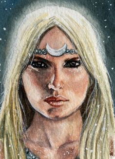 Selene was the moon goddess in Greek mythology, sister of Helios the sun god . Greek And Roman Mythology, Greek Gods And Goddesses, Sacred Feminine, Divine Feminine, Fantasy, Moon Goddess, Goddess Art, Mythological Creatures, Art Portfolio