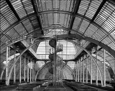 The Palm house Kew designed by Decimus Burton and built by Richard Turner a truly magnificent structure well thought of and designed with great skills.