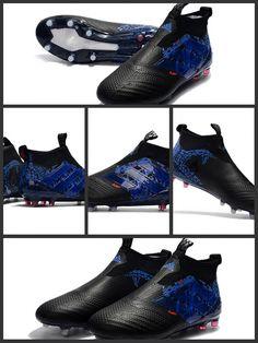new product 703fb 31231 le Scarpa da Calcio Adidas ACE 17+ Purecontrol FG Drago Nero Blu  incorporano la tecnologia