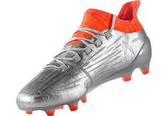 b796e20fd adidas X 16.1 FG Soccer Cleats - Silver Metallic   Core Black -  SoccerPro.com