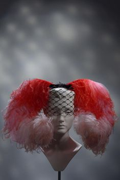 'The perfect hat for… sex' Funky Hats, Crazy Hats, Stephen Jones, Kentucky Derby Hats, Love Hat, Hat Making, Red Fashion, Headgear, Headdress