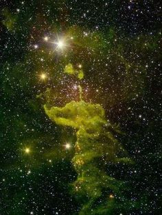 Una obra maestra en el infrarrojo de la Nebulosa de la Araña a 7, 000 años luz de la Tierra. Publicado por: @407Dank