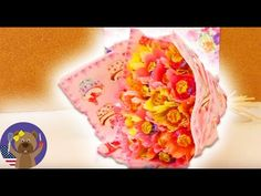 Tutorial: How to make a lovely Lollipop bouquet? - YouTube