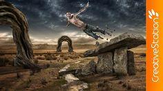 Leap - Speed art ( #Photoshop ) | CreativeStation