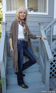 Casual Fashion For 50 Year Old Woman Casual Outfits For 50 #women'sfashion50yearolds #casualoutfits