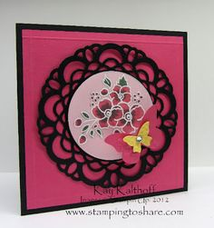 Stampin' Up! SU by Kay Kalthoff, Stamping to Share