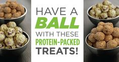 Studies have shown that snacks and foods high in protein and fiber keep you satisfied longer. These protein balls are combined with fiber—and protein—that will definitely give you the energy to blast through your daily workout. In Chocolate or Vanilla IsaPro, whipping up these protein balls will last an entire week!