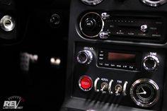 Sexy revlimiter mx5 miata roadster interior