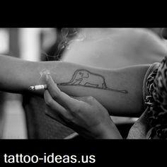 #cute minimal tattoo