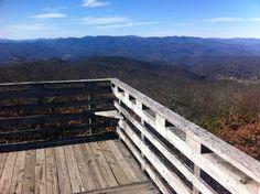 View from Rabun Bald,  Bartram Trail