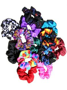 Scrunchies...you should not be wearing these now!