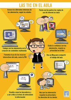[PQS] Para que sepan: Las TIC en el aula (infografía)