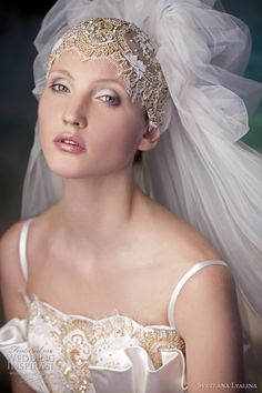 wedding veil styles -- Svetlana Lyalina Wedding Dresses 2011