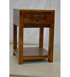 indyjska drewniana szafka nocna 427