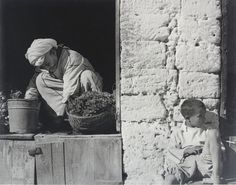 The Vegetable Shop, Mogador, #Morocco, 1962, Paul Strand. (1890 - 1976)