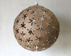 Andrew Thomson dome lamp cardboard