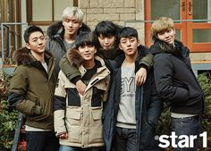 B.A.P - @Star1 Magazine January Issue '16