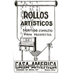 #1921 #argentina #buenosaires #vintage #ads #freelance #diseñoweb #tango