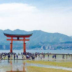 Itsukushima, Japan GW楽しかったなぁ〜✨✨ また明日から頑張ろうーっと! #宮島 #厳島神社 #広島