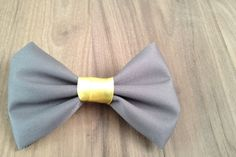 The Hairclip: Grey & Yellow by Poise & Ivy on hellopretty.co.za